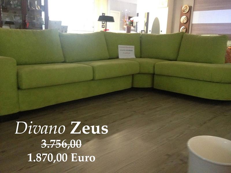 divano in offerta  zeus